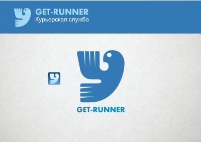 Логотип для get-runner
