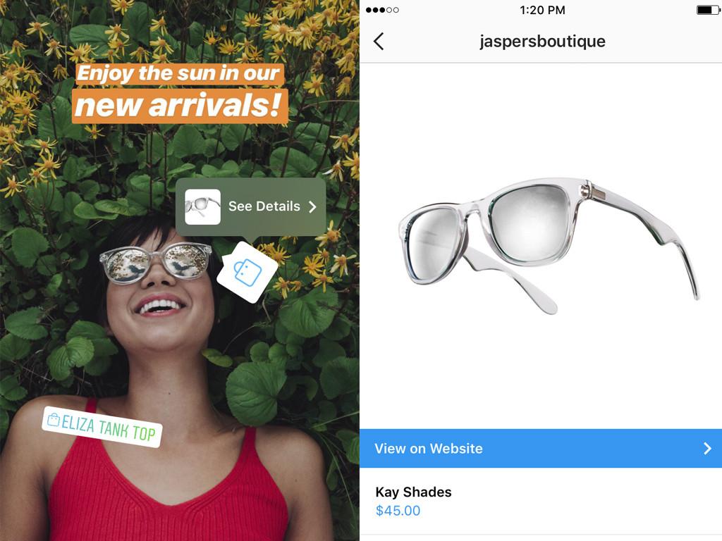 Instagram добавит покупки в Stories